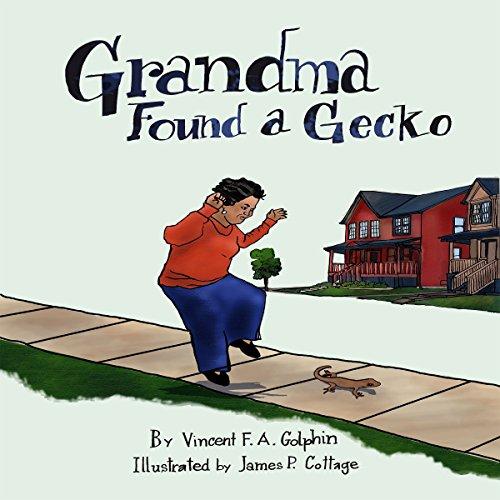 Grandma Found a Gecko audiobook cover art