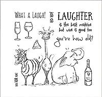 動物の笑い透明なクリアシリコンスタンプシールDIYスクラップブッキングフォトアルバム装飾A0663