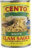 Cento White Clam Sauce, 15-Ounce (Pack of 12)