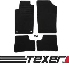 2006-2012 Basic CARMAT TEXER Textil Fu/ßmatten Passend f/ür Peugeot 207 Bj