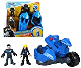 Imaginext Nightwing & Black Canary with Transforming Cycle DC Superfriends