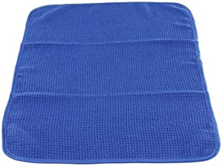 Chemical Guys MIC_708_1 Waffle Weave Towel for Home & Auto Glass, Windows, Mirrors & More, Blue (24 in. x 16 in.)