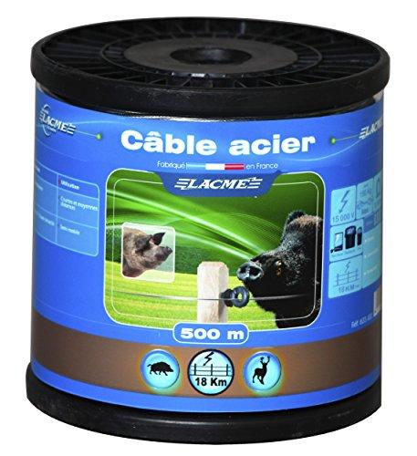 Cable acier 500m bobine