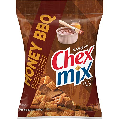 Chex Mix Honey BBQ, 2.48 Pound (Pack of 8)