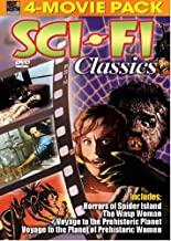 Sci-Fi Classics Movie Pack: (Horrors of Spider Island / The Wasp Woman / Voyage to the Prehistoric Planet / Voyage to the Planet of Prehistoric Women)