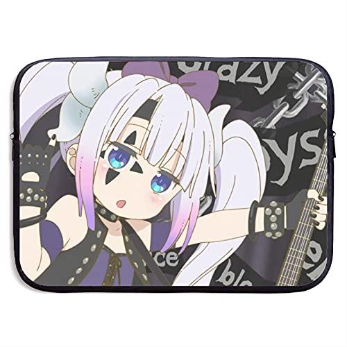 Anime Miss Kobayashi's Dragon Maid - Bolsa de viaje para ordenador portátil con dibujos animados para mujeres, hombres y niños