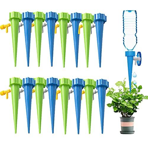 YANGJI 16 Stück Automatisch Bewässerung Set,Pflanzen Bewässerungssystem mit Einstellbar,Pflege Ihrer Indoor & Outdoor Home Office Pflanzen.