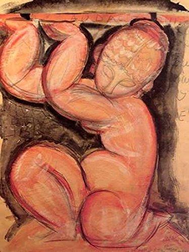 Caryatid X Poster Print by Amedeo Modigliani (9 x 12)