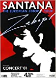 Santana - Zebop, Heidelberg 1981 » Konzertplakat/Premium