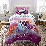 Frozen Princess Anna & Elsa Twin Comforter, Sheets & Bonus SHAM (5 Piece Bed in A Bag) + Homemade Wax Melts