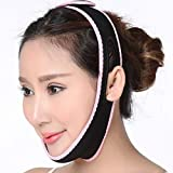 Máscara de adelgazamiento facial Vendaje de barbilla Facial para adelgazar Cinturón anti arrugas Máscara V Línea de cara para el cuidado facial