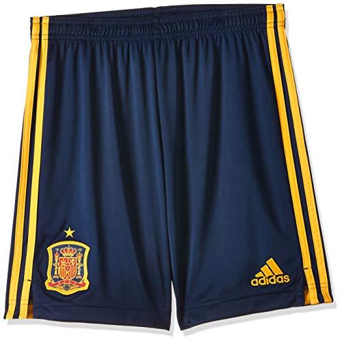 adidas Selección Española Temporada 2020/21 Pantalón Corto Primera equipación, Unisex, Collegiate Navy, 176