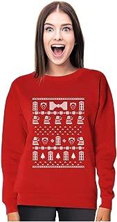 Tstars Doctor Ugly Christmas Sweater Women's Sweatshirt