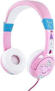 OTL - ONEAR - JUNIOR HEADPHONE - PRINCESS PEPPA - Children's Headphones - Portable Headset Volume Limiting Kids Headphones...