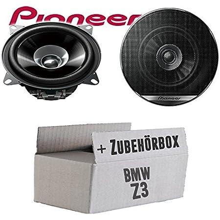 Lautsprecher Boxen Pioneer Ts G1010f 10cm Doppelkonus 100mm Pkw Kfz Auto 190w Paar Einbausatz Einbauset Für Toyota Aygo Just Sound Best Choice For Caraudio Navigation