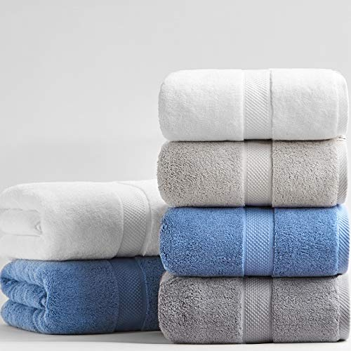WEWEWE Thickened 100% Cotton Bath Towel 80160cm 800g Luxury for Adults Beach Towel Bathroom Extra Large Sauna for Home Hote Towel