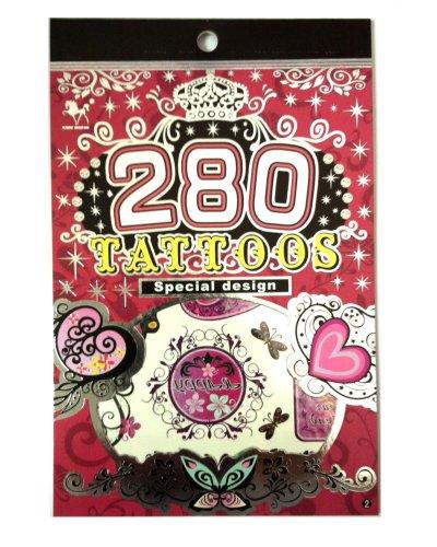 280 Tatouages Temporaires - F Style