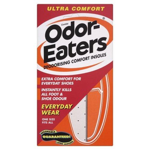 Odor Eaters - Schuheinlagen Einlegesohlen Ultra Komfort gegen Gerüche - 3 Packungen