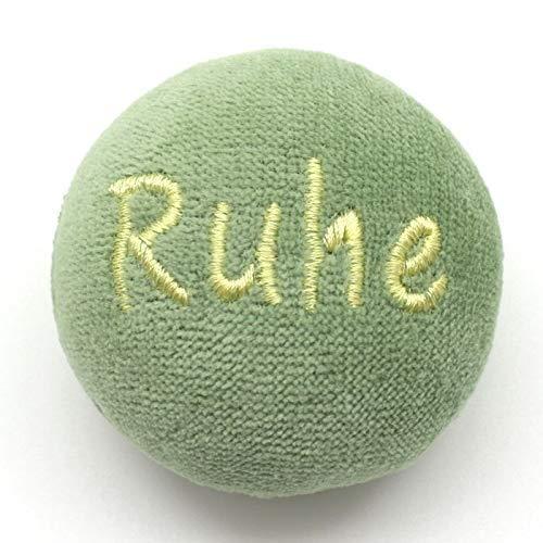 Bio Anti Stess Kräuterball grün mit Ruhe