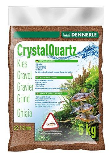 Dennerle Gravier quartz marron (1 à 2 mm) 5 kg