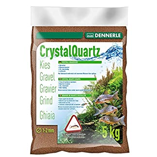 Dennerle Kristall-Quarzkies Rehbraun