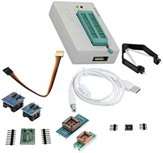 LAQIYA TL866? Plus Programmer USB EPROM Flash BIOS Programmable Logic Circuits 6 Adapters Socket Extractor for 15000 IC