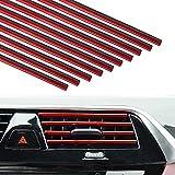20 Pack Car Vent Trim Strips Chrome Car...