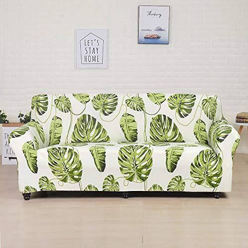 Funda de sofá elástica de algodón Funda de sofá Todo Incluido para Sala de Estar Funda elástica en Forma de L Sofá de Esquina A21 1 Plaza