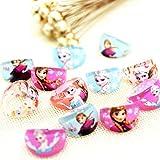 Trendy Tap Disney Barbie Doll Princess Fashionable Anna Elsa Finger Ring Set