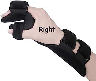 Best Soft Resting Hand Splint Night Wrist Splint Support Immobilizer Finger Wrist Fracture Fixation Scaffold for Stroke Hand Pain Tendinitis Sprain Fracture Arthritis Dislocation (Medium, Right) Review