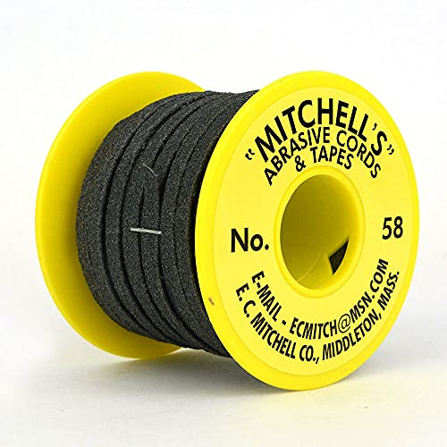 'Equipment and Tools for You' Mitchell #58 Woodworking 3/16 x 50 Feet Med Grit Cutting Sanding Cord 19497 asd-1-7-4816