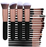 BS-MALL Professional 22 Pcs Rose Golden Make up Brushes Set - Cosmetic Eyebrow