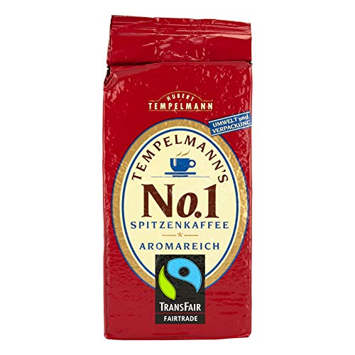 Tempelmann`s No. 1 Spitzenkaffee, 500g gemahlen, 1er Pack