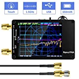AURSINC Vector Network Analyzer 10KHz -1.5GHz V3.4 HF VHF UHF Antenna Analyzer Measuring S Parameters, Voltage Standing Wave Ratio, Phase, Delay, Smith Chart