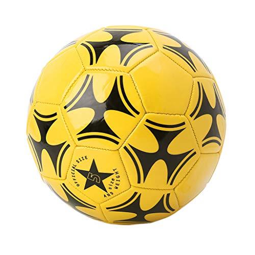 SHESSTILL Balón de fútbol de Costura de PVC de Partido de fútbol de tamaño 5 de fútbol de Equipo de Entrenamiento de Copa Mundial