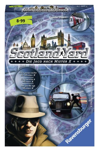 Ravensburger 233816 Scotland Yard: Pocket