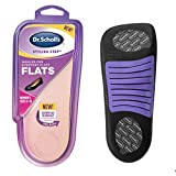 Dr. Scholl's Cushioning Insoles for Everyday Flats, Low Heels, Dress Shoes, Casual Shoes, Boots (for Women's 6-0)