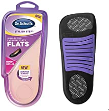 Dr. Scholl's Cushioning Insoles for Everyday Flats, Low Heels, Dress & Casual Shoes, Boots (for Women's 6-10)
