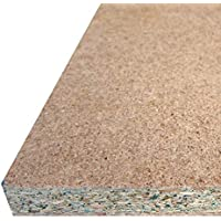 d®tiendas - Tablero de Partículas de Madera Aglomerado, Resistente a la Humedad, para Carpintería, Bricolaje, Manualidades. Corte a Medida: (120 x 60 x 1 cm)