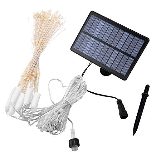 N/D Solar String Lights, Firework Lights 8 Modes String Light with Remote, Indoor/Outdoor String Lights, Courtyard, Garden (Colorful),288LED