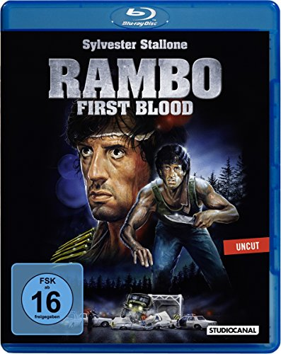 Rambo 1 - First Blood - Uncut [Blu-ray]