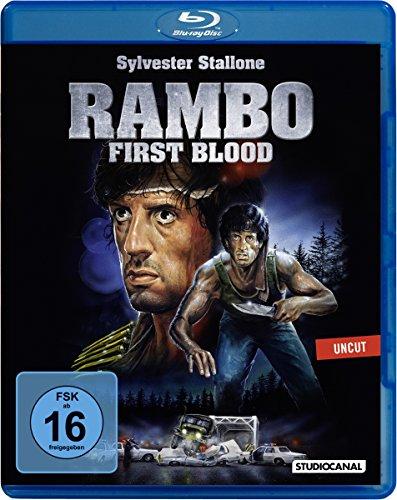 Rambo 1 - First Blood - Uncut [Blu-ray]