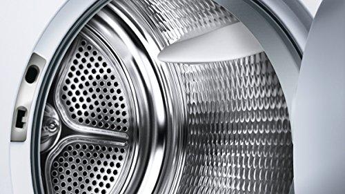 Siemens iQ700 WT44W5W0 iSensoric Premium Wärmepumpentrockner / A+++ / 8 kg / Großes Display mit Endezeitvorwahl / Selbstreinigungs-Automatik / weiß - 2
