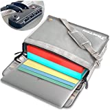 TRIKTON X-Large 16x12x3.5, Fireproof Document Safe Bag with Lock TSA, XL, Full Opening Zipper, Stores Legal Size Files, Visible in The Dark, Fire and Water-Resistant Briefcase | Lock Box for Documents