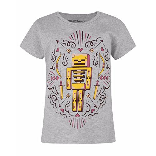 Minecraft Skelly Dreams Mädchen T-Shirt (11-12 Years)