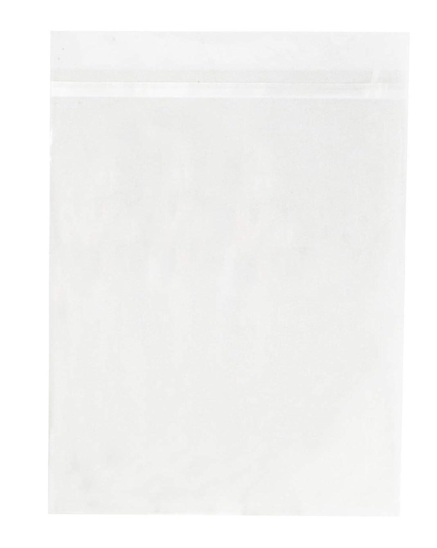 Golden State Art, Pack of 50 11 1/4 x 14 1/8 Clear Bags for 11x14 Mat Matting