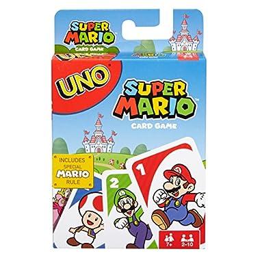 Mattel Games UNO Super Mario Game