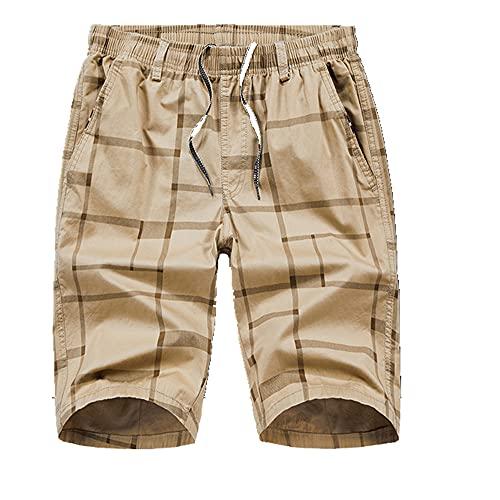 Hombres de Verano Pantalones Cortos Casuales para Hombre Pantalones Cortos Streetwear Masculino Suelto