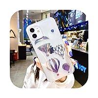 ファッション熱気球パターン携帯電話ケースFor iPhone12 11 Pro XS Max XR X MINI 7 8 Plus SE2020耐衝撃性裏表紙 -T2-For iPhone 8 Plus