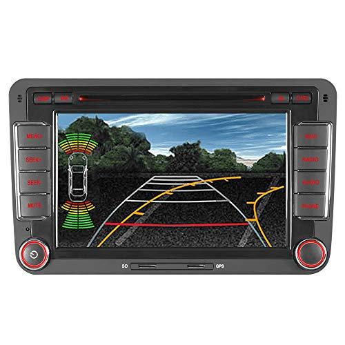 Junhua 16GB Map Card AUTORADIO DVD GPS Navigation Für VW Golf 5 6 V VI Passat B6 CC Tiguan Polo Touran Candy Amarok New Beetle 2 Scirocco EOS T5 Transporter BT DAB VMCD RDS